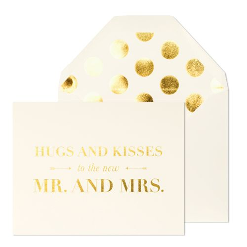 The perfect Wedding Card for the couple getting married from Sugar Paper. #weddingcard #perfectcard