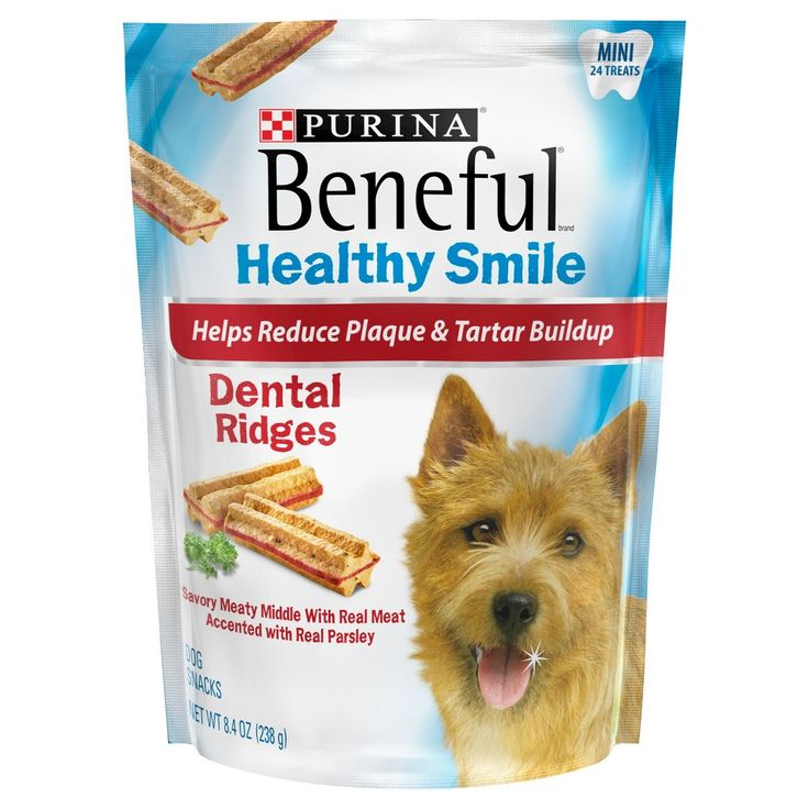 Purina Beneful Healthy Smiles Dental Ridges Meaty 8.4oz