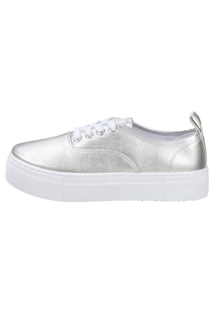 Topshop CHARLOTTE - Sneakers basse - silver - Zalando.it