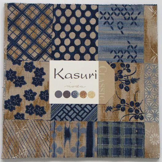 Moda Kasuri Layer Cake 42 10 Quot Quilt Fabric Squares