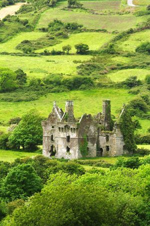 At the Coppingers Court, west of Rosscarbery in County Cork Ireland.