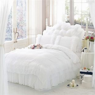 Find More Information about Luxury bedding lourie exquisite lace bedding set,romantic white wedding bedding sets,duvet cover housse de couette bed sheet,High Quality bedding western,China bedding sets for children Suppliers, Cheap bedding online from Oscar life store on Aliexpress.com