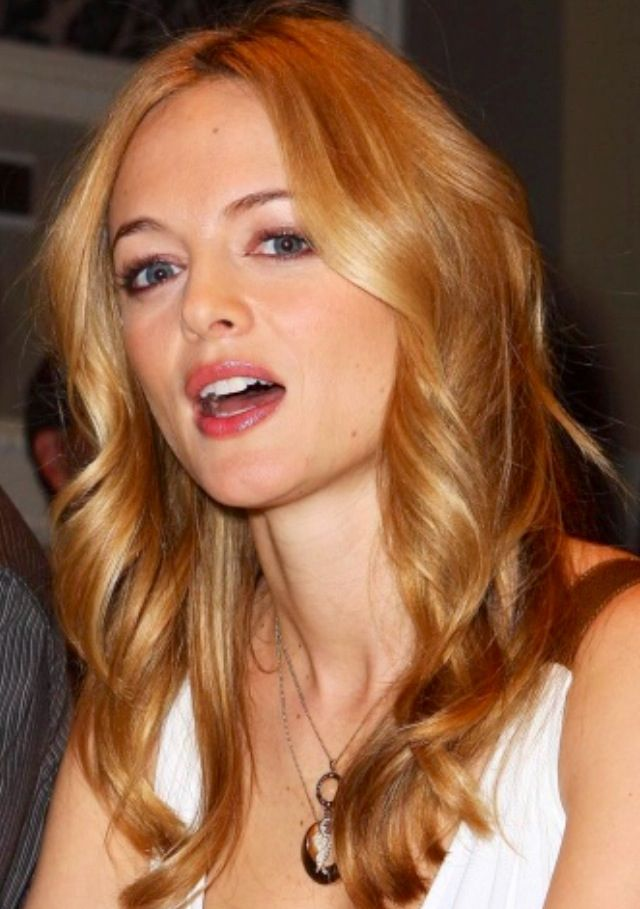 Heather Graham Warm Golden Honey Blonde Honey Hair