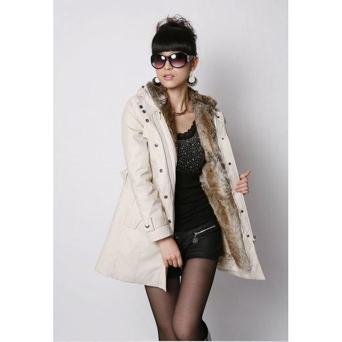 Feeling cold? This Women Faux Fur Hooded Jacket makes you feel warm during that cold season. It is fashionable, breathable and very comfortable to wear. This ja