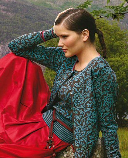 Tichiro - knits and cats · Oleana und Solveig Hisdal
