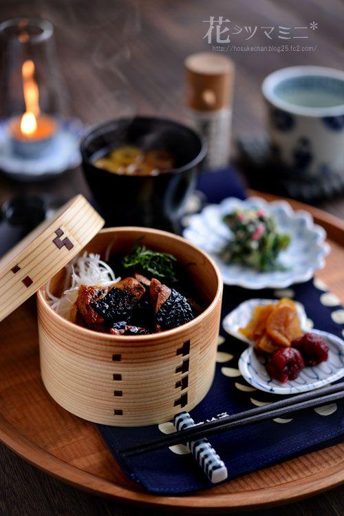 マグロの照焼きわっぱ丼 - Teriyaki bowl of Maguro