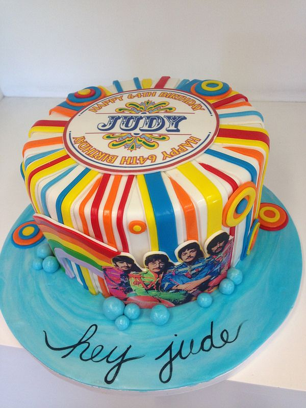 Beatles cake (3157)