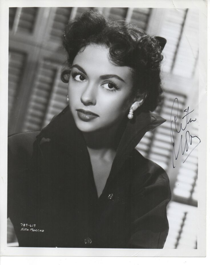 Rita Moreno 'THE King I' Hand Signed Autographed 8x10 Photo | eBay