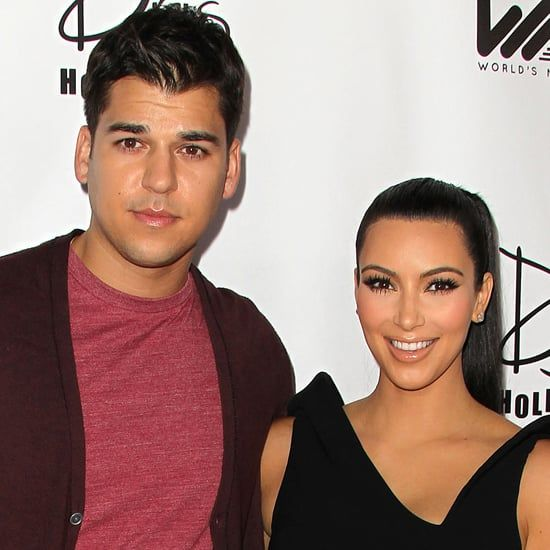 Pin for Later: The Latest on Kim Kardashian's Feud With Rob's Ex