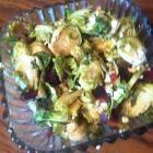 Foto recept: Spruitjes met spek en gorgonzola