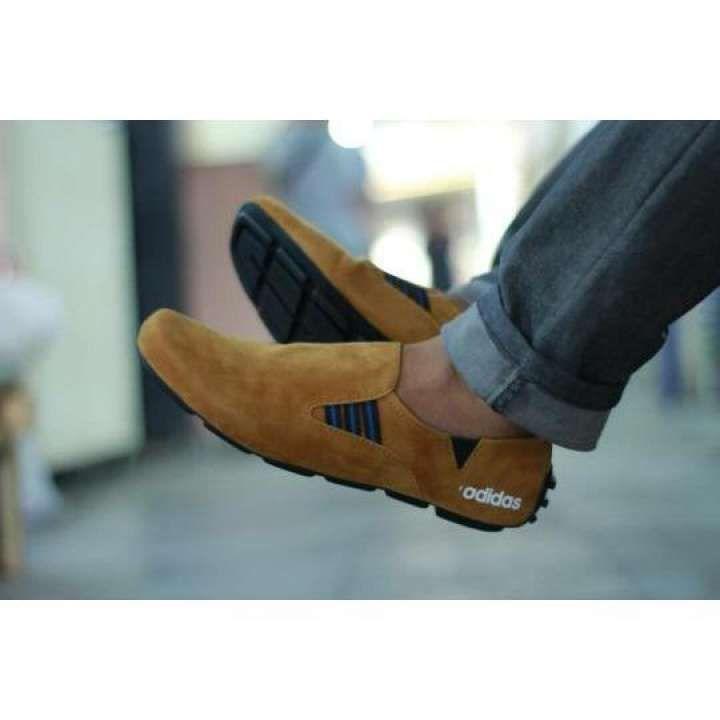 Shoes Sepatu Casual Pria Slip On Loafers Kerja Sepatu Santai