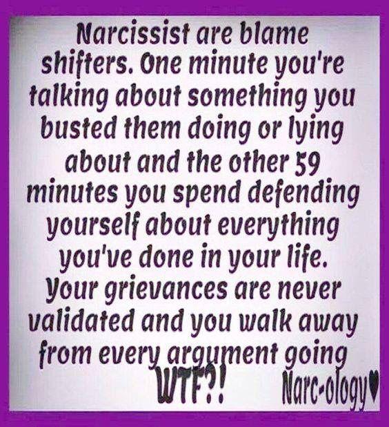 #narcissist