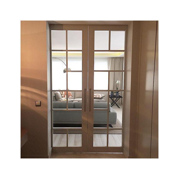HG Residence Etiler , Istanbul Turkey. Custom-made sliding doors | entrance | living room by Gsc Design | Interiors | Atelier