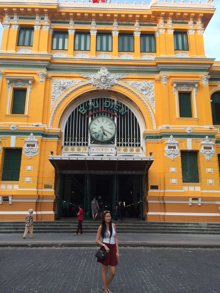 Vietnam - Saigon Central Post Office