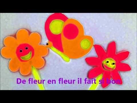 Tu t'envoles papillon chanson comptine pour enfants Eléa Zalé