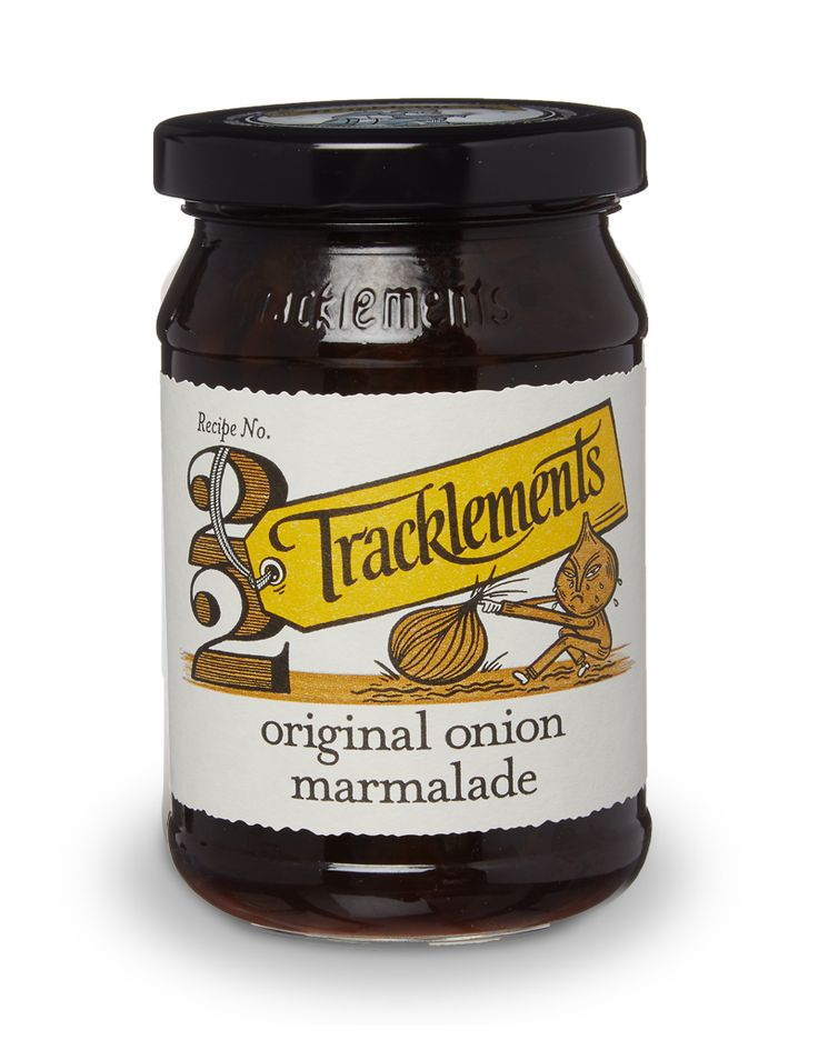 The UK's first Original Onion Marmalade - Tracklements
