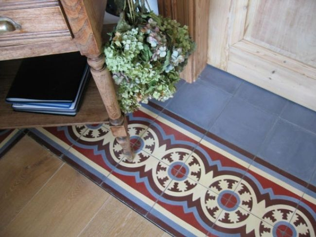 23 best images about carreaux de ciment on pinterest - Carreaux ciment patchwork ...