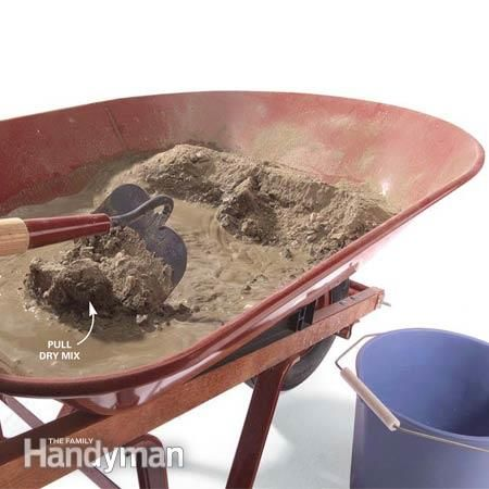 How to Properly Mix Concrete