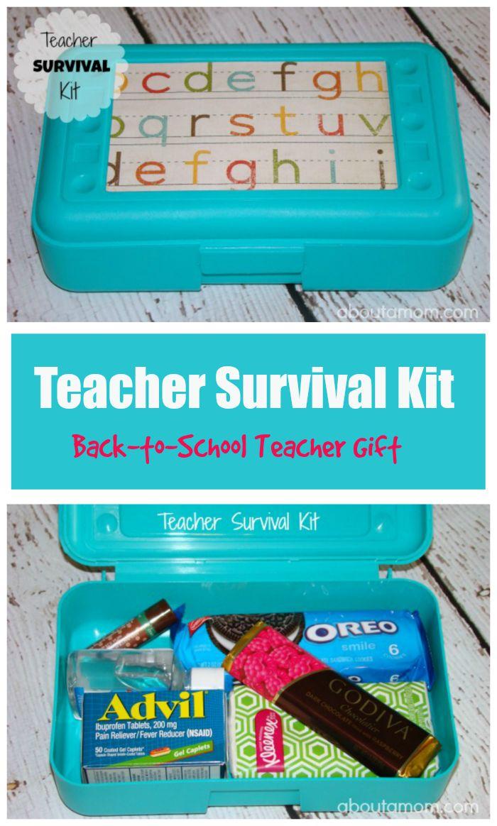 Teacher Survival Kit - A Back to School Teacher Gift