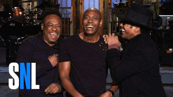 SNL Host Dave Chappelle Tells A Tribe Called Quest He's Going To Show Up