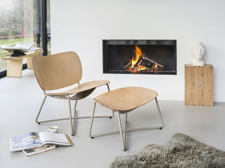 Functionals Miller Lounge chair and Miller Ottoman http://functionals.eu/products/seats/miller