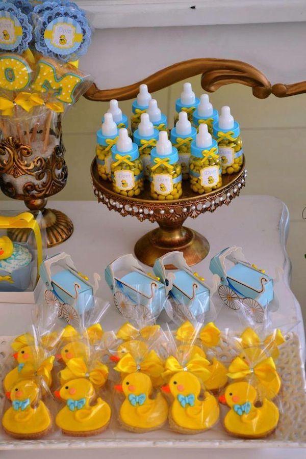 Chá de Bebê | Patinho Amarelo | Vestida de Mãe | Blog sobre Gravidez, Maternidade e Bebês por Fernanda Floret