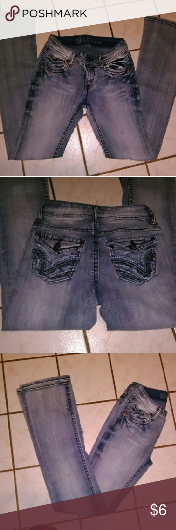 Wallflower jeans Cute & stretchy jeans, no stains,freys or anything. Wallflower Jeans