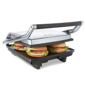 Flat Non-Stick Sandwich Press