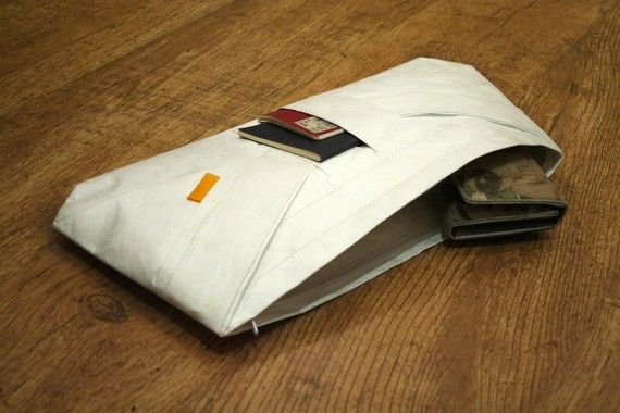 Items similar to Japanese Tyvek Clutch on Etsy