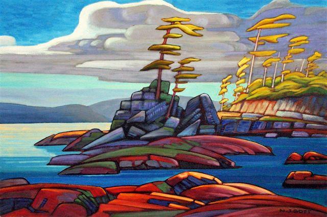Nicholas Bott   OIL                        West Coast Shore II
