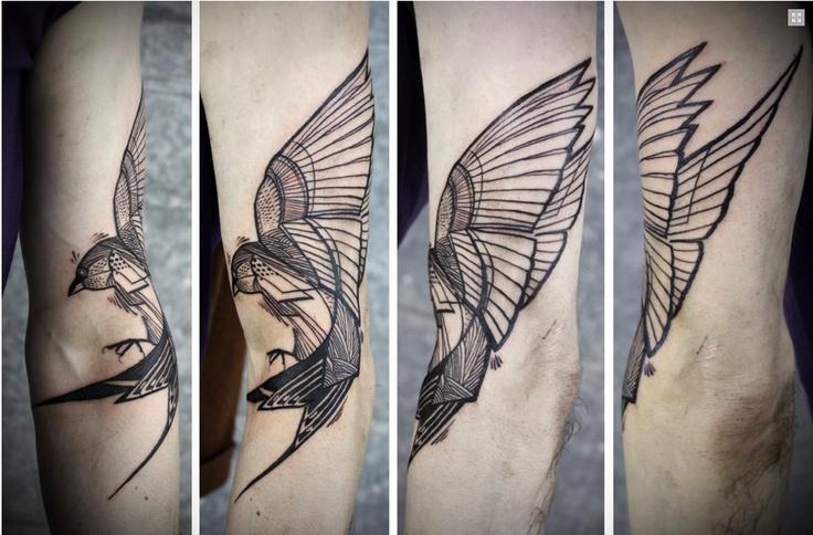 David Hale, Love Hawk Tattoo Studio in Athens, GA