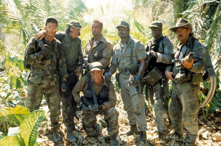 Predator (1987) - Shane Black, Sonny Landham, Arnold Schwarzenegger, Richard Chaves, Carl Weathers, Bill Duke, Jesse Ventura