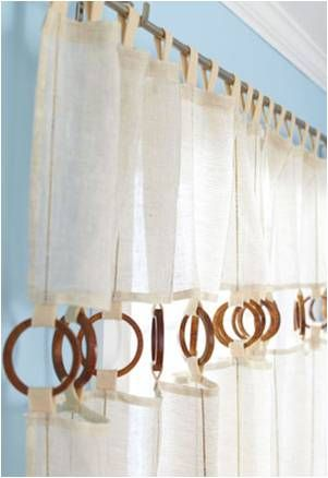 curtain idea great way to extend the length