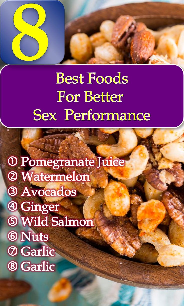 Best foods for better sex