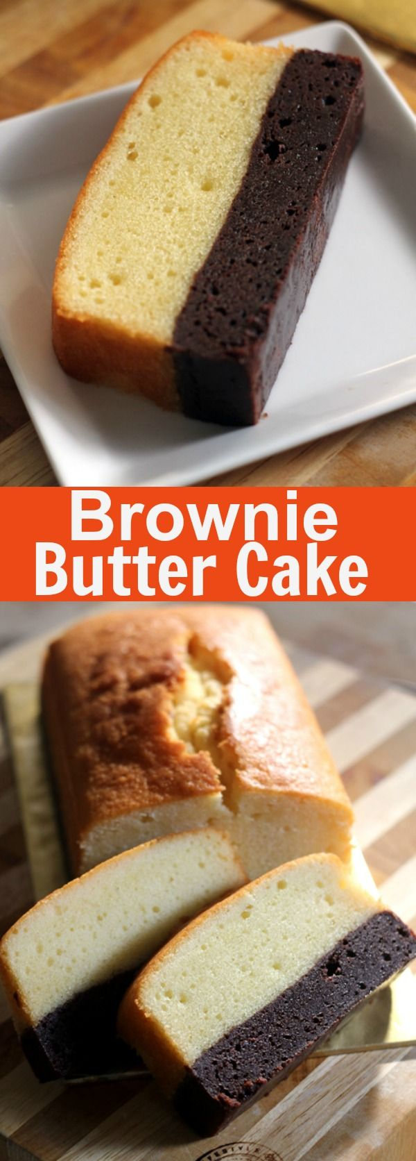 Brownie butter cake – brownie and butter cake combined into one decadent and to-die-for cake, must-try | rasamalaysia.com