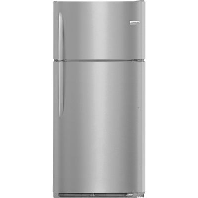 Frigidaire Gallery 18-cu ft Top-Freezer Refrigerator (Smudge Proof Stainless Steel)