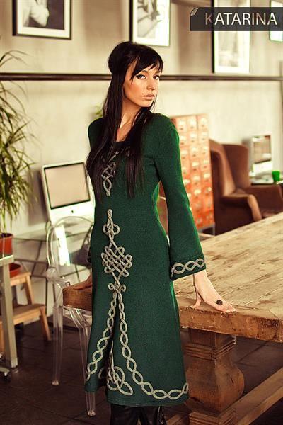 Платье кельтское