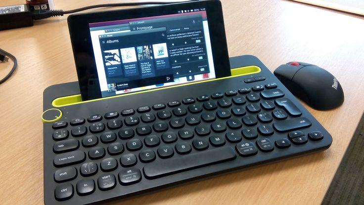 Ubuntu Phone - Nexus 7 2013 in Desktop Mode