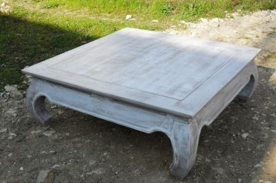 Table basse opium relooking made in angel table basse - Comment patiner une table basse en bois ...