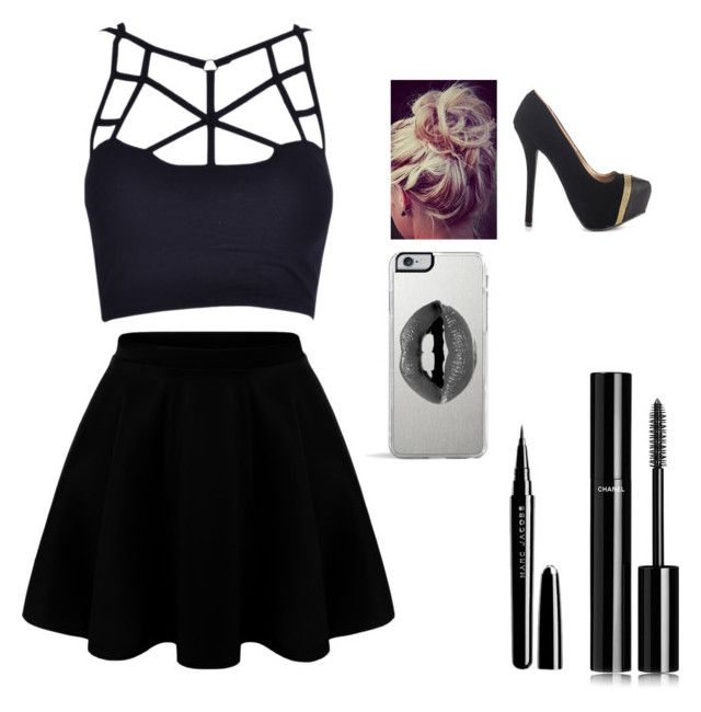 """""""❤️"""" by xoxocloe ❤ liked on Polyvore featuring Qupid, Chanel, Marc Jacobs and Lipsy"""