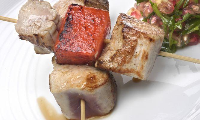 Receta de solomillo de cerdo con sandía  | Cantabria | Spain