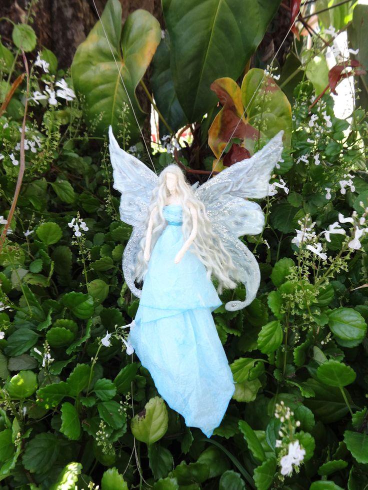 Fada azul/ enfeite/ asas