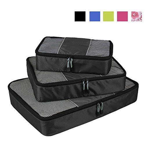 Nuova offerta in #bagaglio : Veevan Cubi di Imballaggio Organizer da Viaggio - Set di 3(Nero) a soli 13.43 EUR. Affrettati! hai tempo solo fino a 2016-12-27 23:39:00