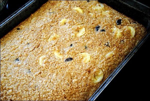 Simple Baked Oatmeal Recipe | Baked Oatmeal, Oatmeal and Baked Oatmeal ...