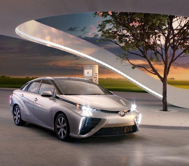 Toyota envisions futuristic, carbon neutral hydrogen societies...