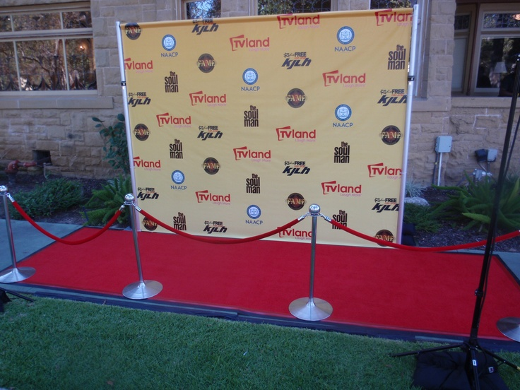 Simple Step and Repeat--kind of did this for Aladdin last year, need to do the backdrop for Annie this year!