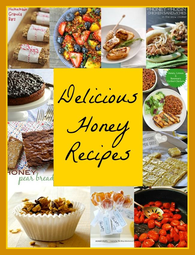 Cooking with Honey - 11 Delicious Honey Recipes - Colorful Kosher