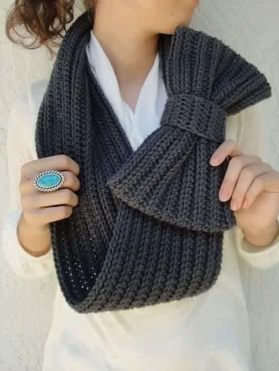 Mejores 11 imágenes de bufandas tejidas en Pinterest   Chal, Tejidos ...