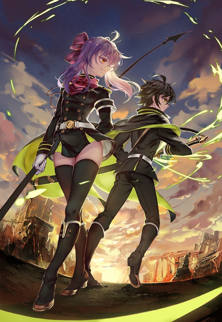 seraph of the end shinoa - Google Search
