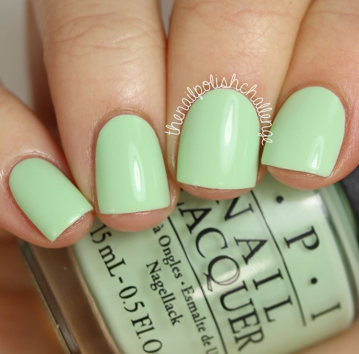 Opi Spring Summer 2017 Hawaii Collection That S Hula Rious Is A Beautiful Minty
